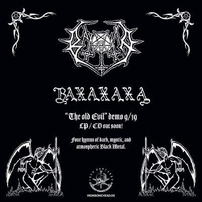 "BAXAXAXA – Iron Boneheas will release ""The Old Evil"" on 12″ Vinyl and CD"